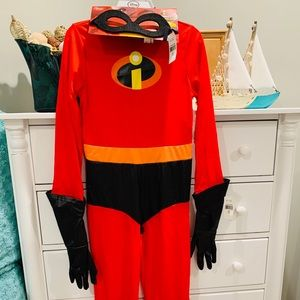 Disney Incredibles 2 Dash Kids Costume Size 7/8